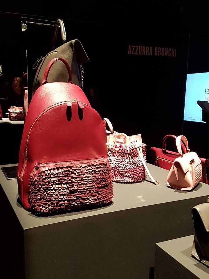 Azzurra Gronchi fall/winter 2017 collection at AltaRoma