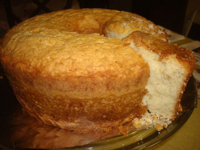 Coconut Pound Cake With Yogurt