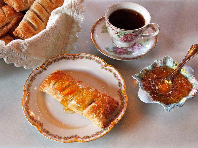 Recept ihlette Jane Austen - Történelmi Recept Apple Puff történelmének Kitchen