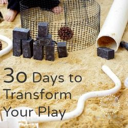 30 Days to Transform Your Play - Day 4: Identifying an Interest   An Everyday Story