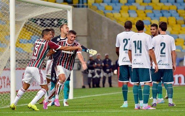 Blog Esportivo do Suíço: Flu vence Goiás, que desconta no fim na Copa Sul-Americana