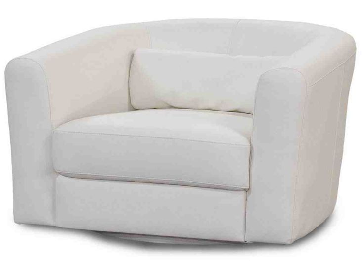 European Style Living Room Swivel Chairs Design Come With White Leather Upholstered Interior Furniture Glider Chair