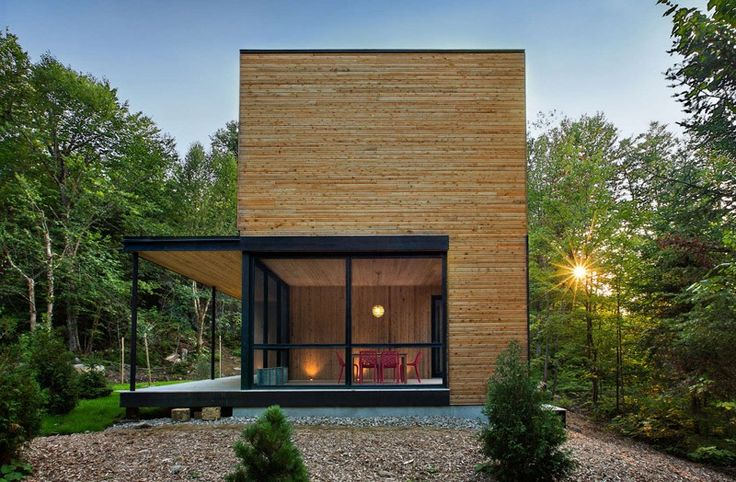 This Wood Clad House Is At Home In The Trees