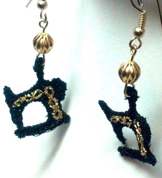 Sewing Machine Earrings by teresadelosh on Etsy