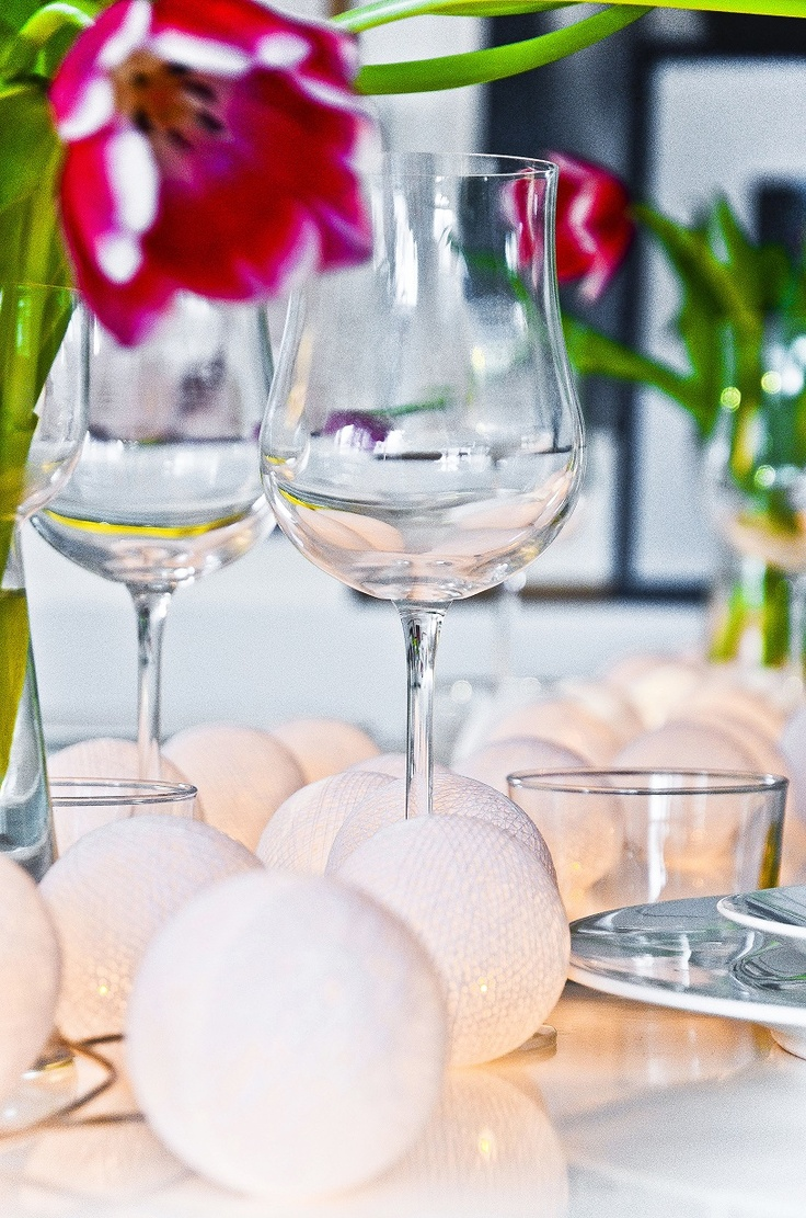 "Irislights ""Pure White""  Styling by Helene Holmstedt"