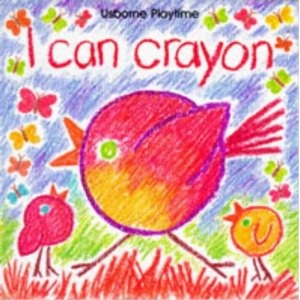 9 best crayon drawing books images on pinterest crayon drawings i can crayon usborne playtime fandeluxe Image collections