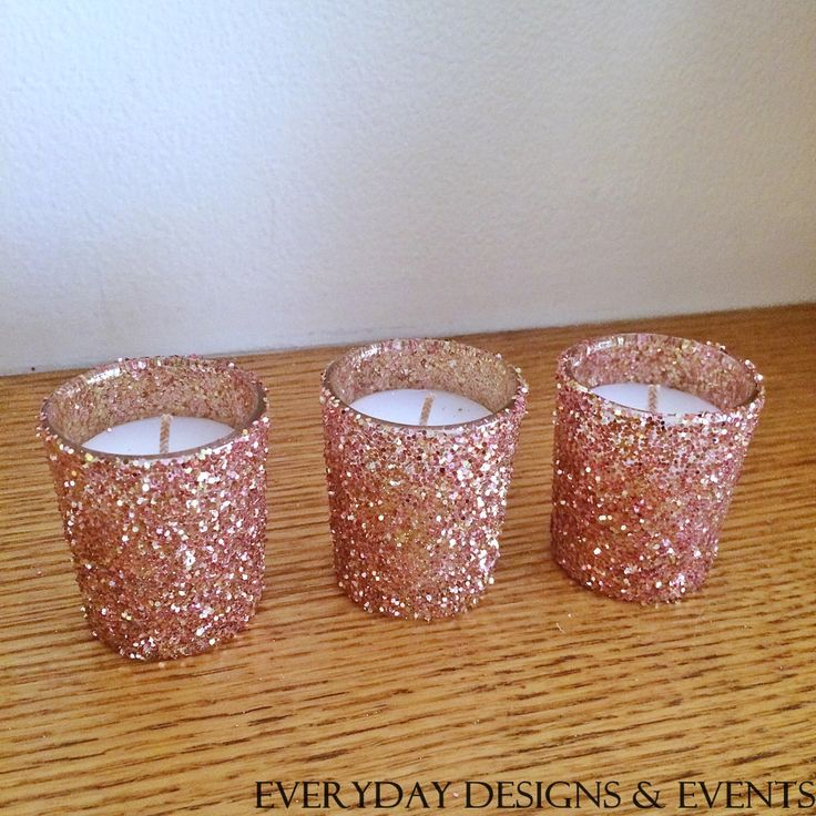 A personal favorite from my Etsy shop https://www.etsy.com/listing/260224386/25-rose-gold-votive-candle-holders