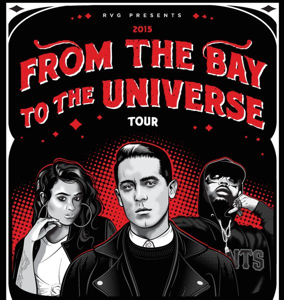 Bay Area rapper G-Eazy is closing out the first segway of his From The Bay To The Universe tour, and before his road trip with E-40 and Iamsu! comes to an end he announced a continuance. At the sta...