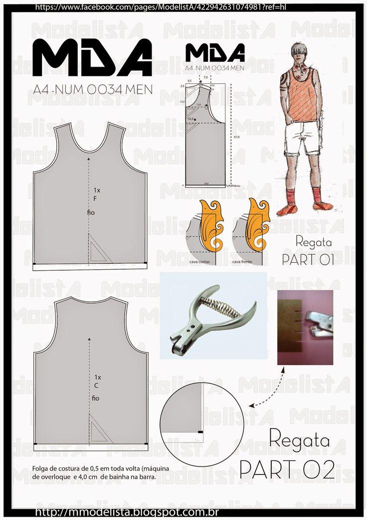 ModelistA: A4 - NUM 0034A4 - NUM 0034 Leves e frescas, as regatas são perfeitas para encarar as altas temperaturas! O estilo é ideal para situações bem específicas, como praia e na hora de malhar. Para o dia a dia uma boa opção é combiná-las com uma camisa social aberta ou até um blazer mais despojado. Para looks casuais combine com bermuda, tênis ou sapatênis e até sandálias para aproveitar o clima de verão.