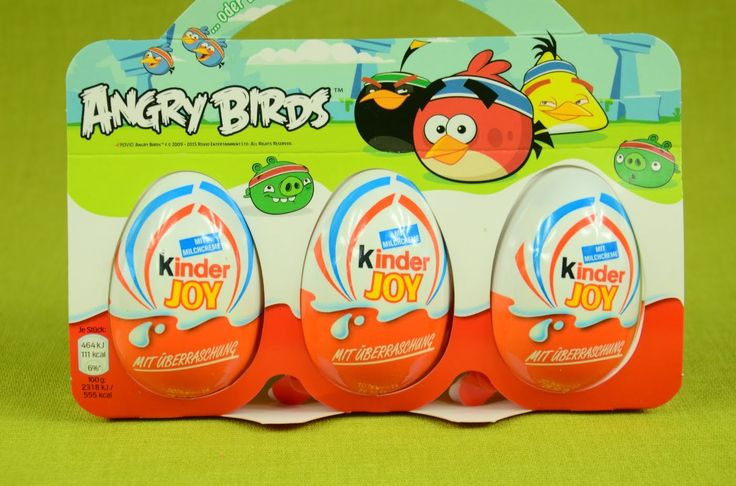 NEW 3x Kinder Joy Surprise egg opening -  ANGRY BIRDS editiond HD Tags: New, Kinder, Joy, Surprise, egg , opening, Kinder Surprise, Angry birds, edition, fun, funny, hd, for children, children safe, HD, HQ, Playlist avaible.