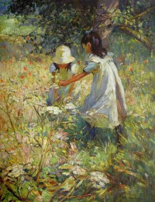British Paintings: Dorothea Sharp - Picking Wild Flowers