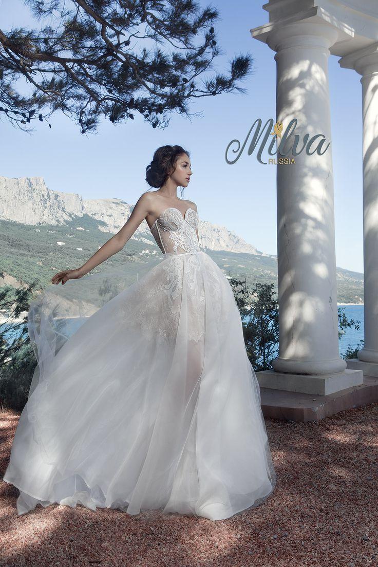 Свадебная мода MILVA. Свадебное платье, Wedding dress 2017, wedding on the sea