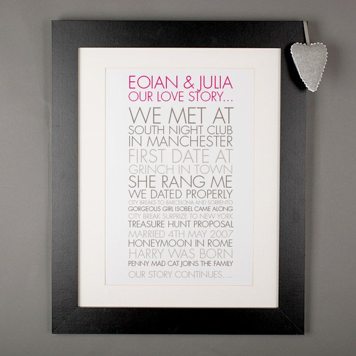First Wedding Anniversary Gift Ideas For Him Uk : + ideas about 1st Anniversary Gifts on Pinterest First anniversary ...