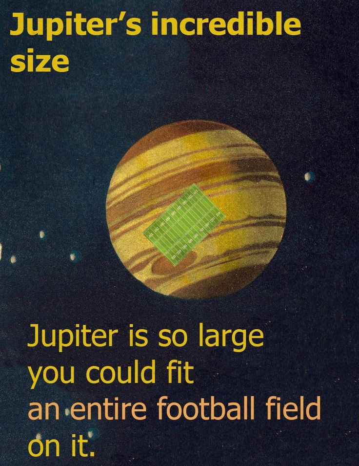 Fun Fact about Jupiter - www.galactic-stone.com - #Jupiter #Space #Science #Juno #NASA