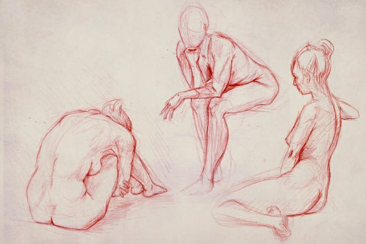 Life Drawing - Gemma Duffill Portfolio - The Loop