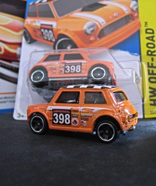 """Morris Mini"" from 2015 Hot Wheels (B case)"