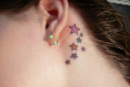 14 best behindear tattoo images on pinterest ears little tattoos and tattoo ideas. Black Bedroom Furniture Sets. Home Design Ideas