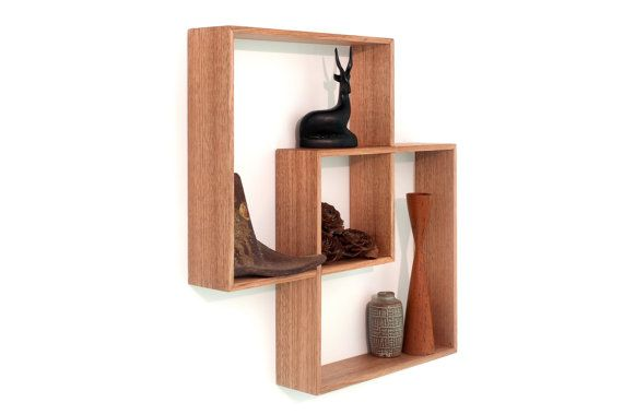 Shadow Box furniture Wall hanging shelf to display your by Senkki, $95.00
