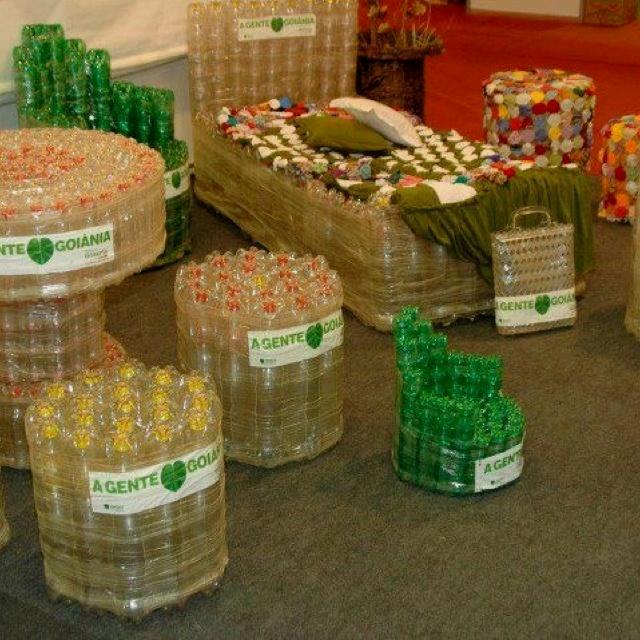 Mobiliario a partir del reciclaje