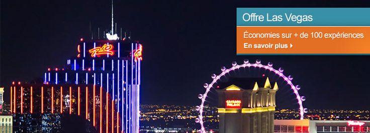 Las Vegas vous fait rêver ? Faites-vous plaisir ! Profitez de nos promos jusqu'à -58%! #LasVegas #Promo #voyage #fun #divertissement #travel #trips #merveille #tripadvisor #voyageexpert #wanderlust #viator #getaway #voyage #tourisme #decouverte #bucketlist #vacances #holidays