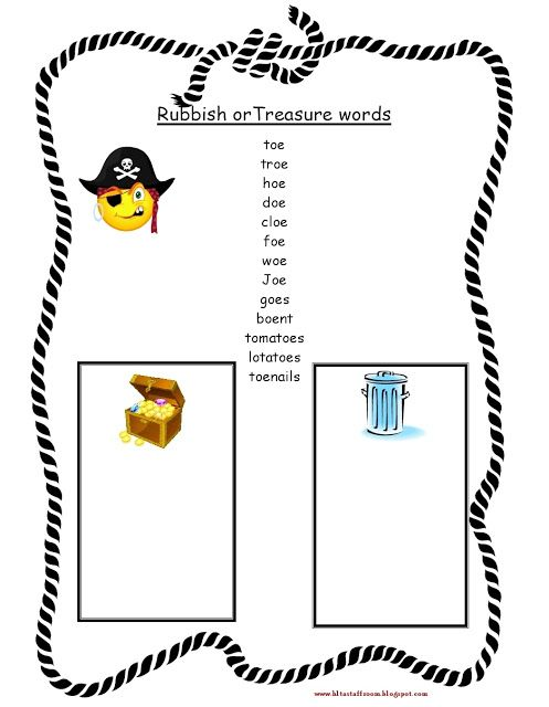 Debbie's Resource Cupboard: Phase 5 Letters and sounds - rubbish and treasure ...