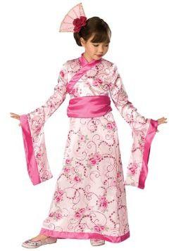Child Asian Princess Costume: Jane halloween 2017