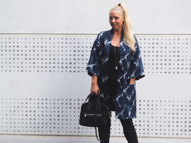 Simple Kimono ♥ helt og aldeles