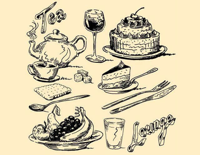 18 best food drawing images on Pinterest | Food drawing ...