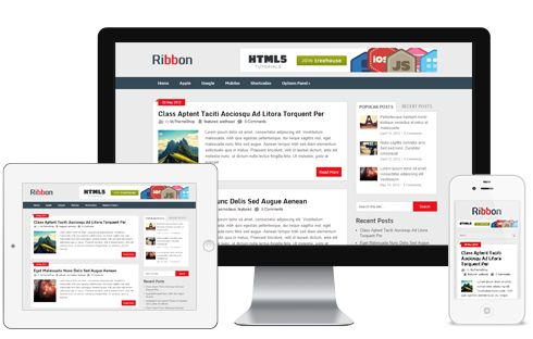 Rebbon A Free Wide Post Traditional Magazine Blog Responsive WordPress Theme