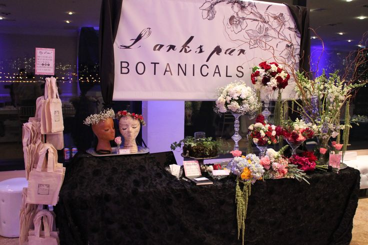 larkspurbotanicals.com Larkspur Botanicals - NJ Eco Friendly Floral Design - Wedding Expo Set up - Wedding Show Set up - Wedding Flowers - Vintage Rentals - High Glass Centerpieces - Hydrangeas - Amaranthus - Orchids - Roses - Larkspur - Curly Willow - Floral Crowns