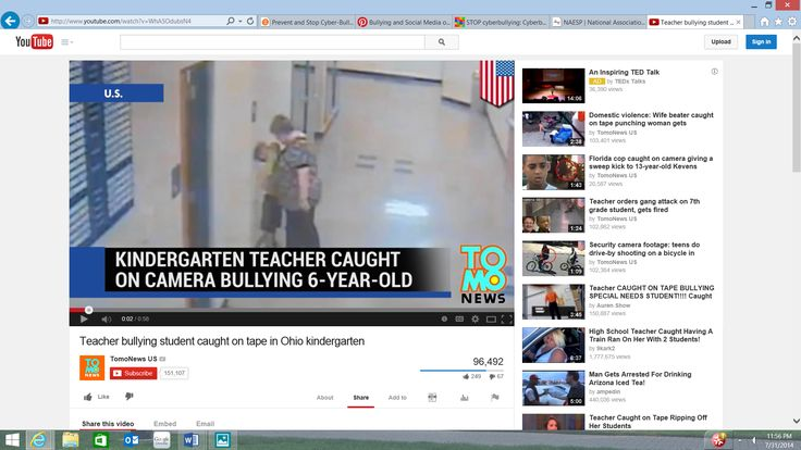 17 best bullying and social media images on pinterest social media teacher bullying student caught on tape in ohio kindergarten fandeluxe Gallery
