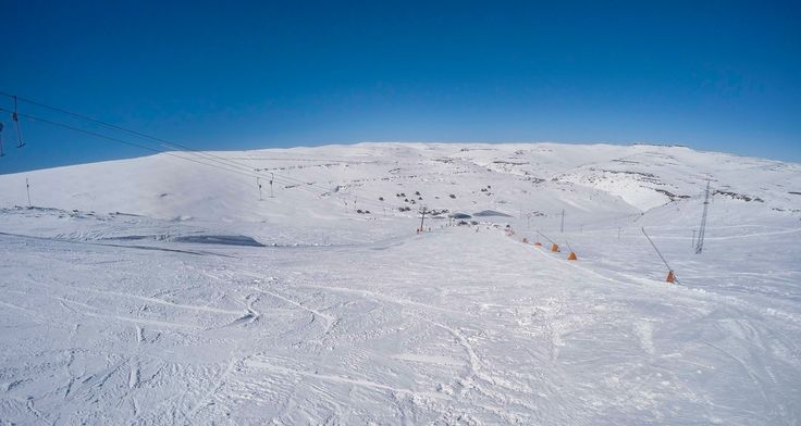 It doesn't get better than this...  View from the top of the Afriski slope. www.afriski.net