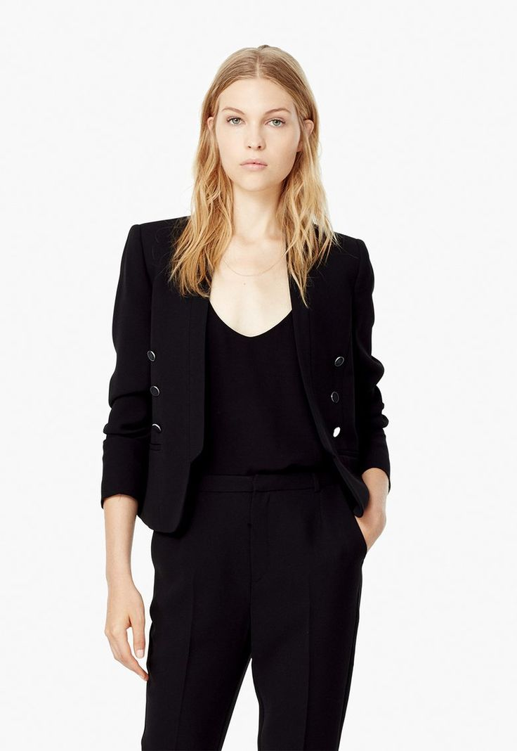 Frog Fekete Blézer a MANGO márkától és további hasonló termékek a Fashion Days oldalán