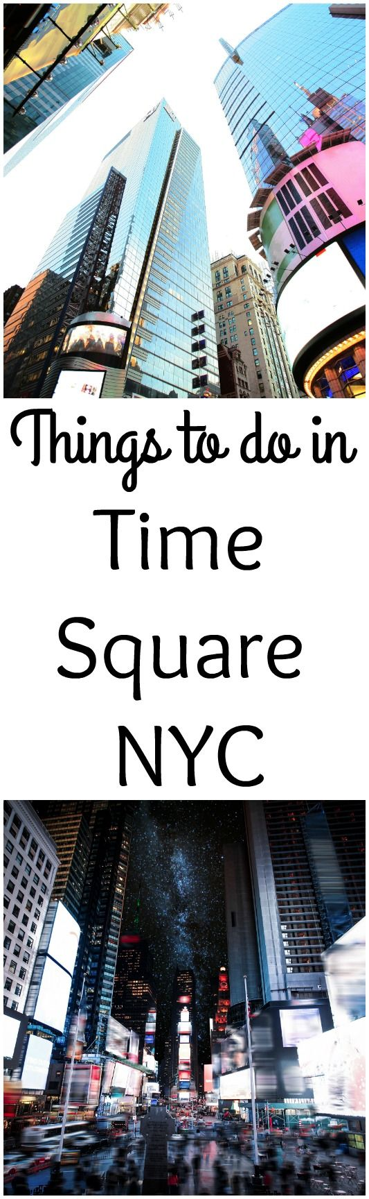 Are you visiting New York City? Visiting Time Square is a must, and that means finding things to do in Time Square in New York City