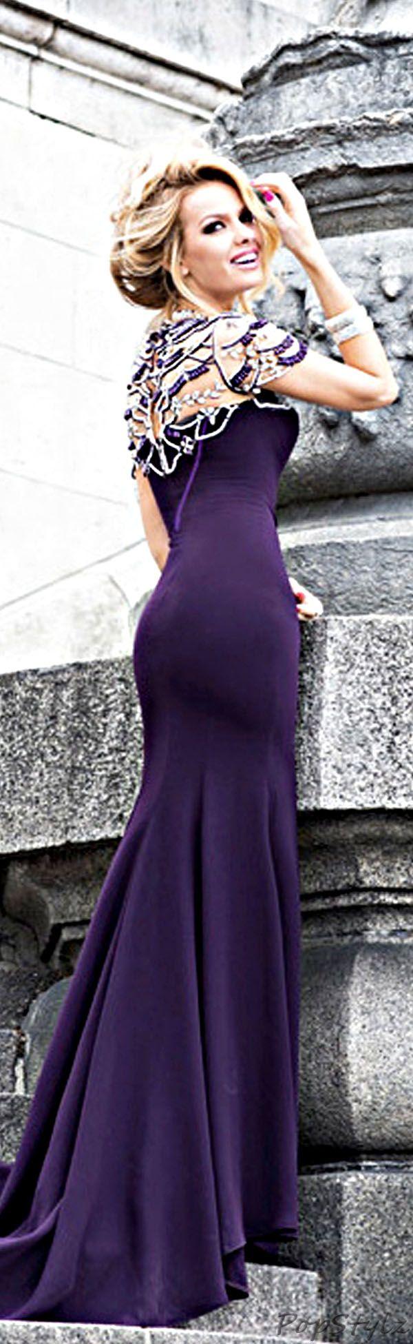 Tarik Ediz 93017 Evening 2014 Gown. Beautiful dress.
