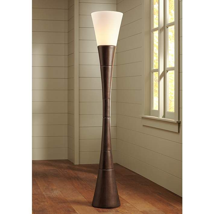 Possini Euro Design Urban Coffee Torchiere Floor Lamp 19925 Lamps Plus Torchiere Floor