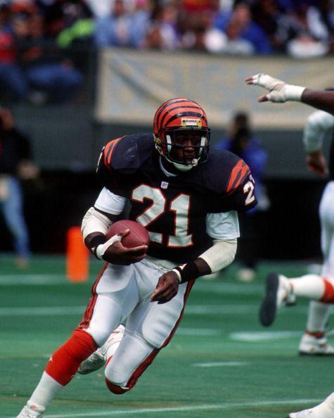 Running back James Brooks of the Cincinnati Bengals
