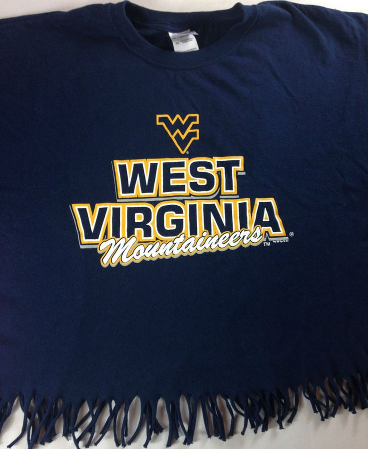West Virginia Mountaineers Frayed Shirt Womens XL Top WVU Cotton Morgantown Tee http://www.ebay.com/itm/West-Virginia-Mountaineers-Frayed-Shirt-Womens-XL-Top-WVU-Cotton-Morgantown-Tee-/262407474861?roken=cUgayN&soutkn=eHZSf7 #marchmadness #bracketbusted #tgif