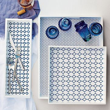 Awesome tray for a dressing room vanity!
