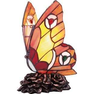 Buy Tiffany Style Butterfly Table Lamp - Multicoloured at Argos.co.uk - Your Online Shop for Table lamps.