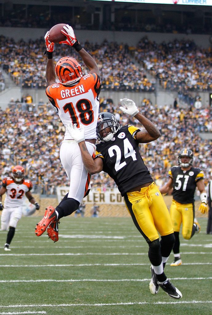 A.j. Green : Cincinnati Bengals v Pittsburgh Steelers