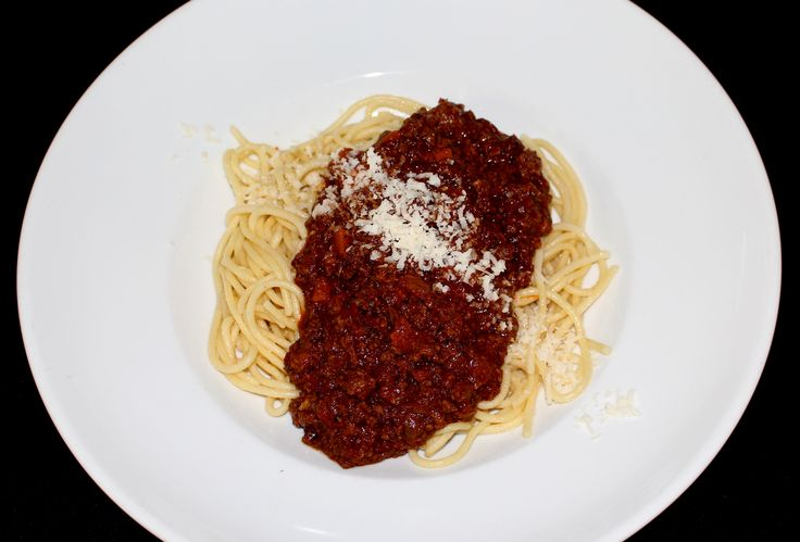 Our Spaghetti Bolognaise - delicious minced kiwi beef smothered in chef's tasty tomato sauce