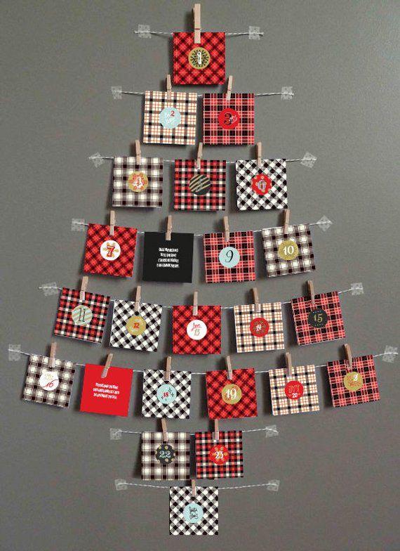 Calendario Avvento Pinterest.Calendario Dell Avvento Pinterest Ikbenalles