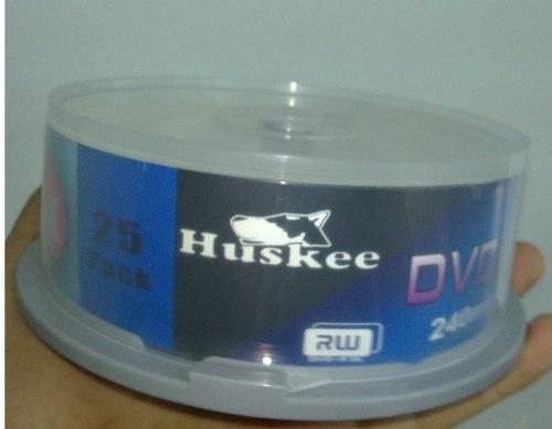 Dvd r Doble Capa Virgen Huskee 8.5 Gb / 240min - $ 1.990