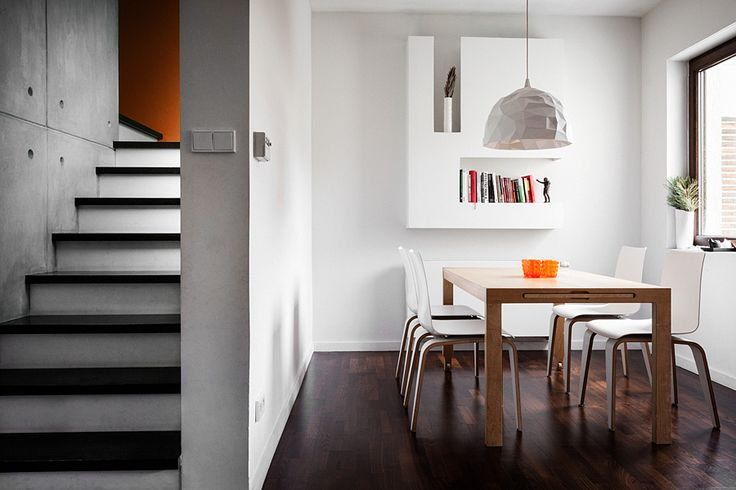 Pomysł na jadalnie w domu z krzesłami PIGI - SITAG  #jadalnia #sitag