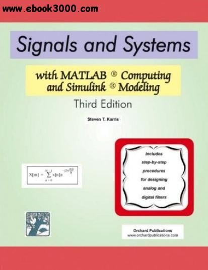40 best matlab images on pinterest free ebooks coding and signals and systems with matlab computing and simulink modeling fandeluxe Choice Image