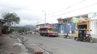 Педерналес Эквадор бусета