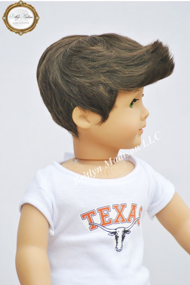 18 Inch American Boy Doll Wig The Quot Logan Quot Wig Comes In
