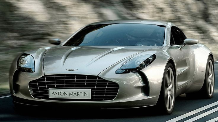 Aston Martin One-77: Jag's most attractive car since the original E-Type. Only 77 were ever made.