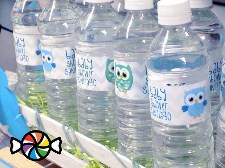 botellas con agua personalizadas detalles hermosos para eventos importantes ¡